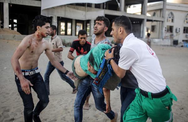 **Geweldsuitbarsting tussen Israël en Hamas in Gaza, bombardementen en korteafstandsraketten**