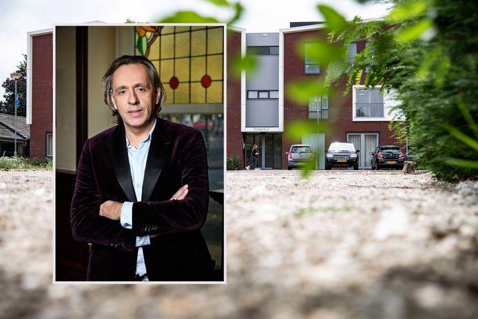 Zorgcentrum Mookerhof in Mook. Inzet: Publicist Marcel van Roosmalen