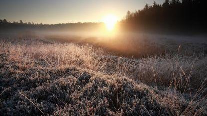 Droge dag met bijzonder frisse temperaturen, vanaf morgen meer zon