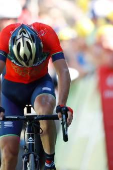 Einde Tour voor Nibali door gebroken rugwervel na botsing op Alpe d'Huez