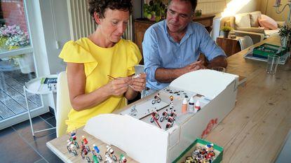 Katrien schildert honderd minicoureurtjes