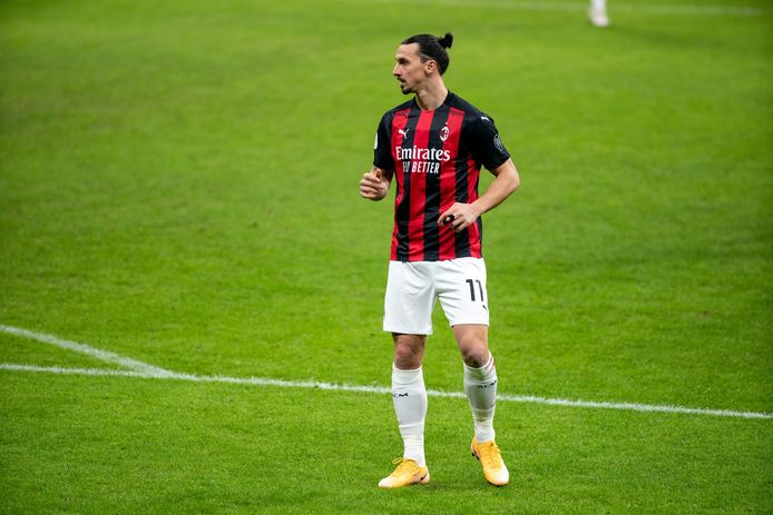 Zlatan Ibrahimovic of AC Milan during the Italian cup, round of 16 football match between AC Milan and Torino FC on January 12, 2021 at San Siro stadium in Milan, Italy - Photo Morgese-Rossini / DPPI © Orange Pictures / Photo News ! only BELGIUM !