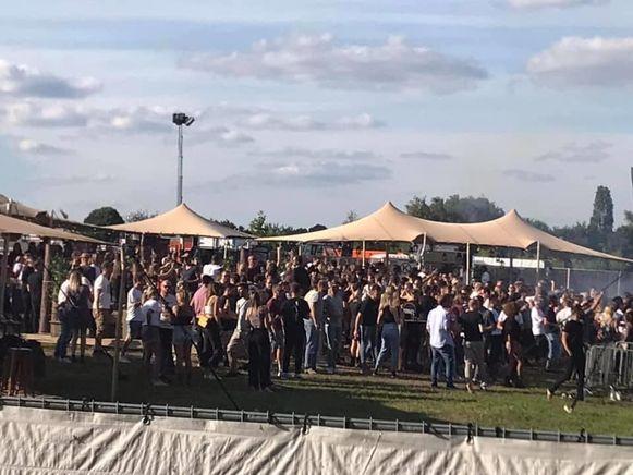 Labyrinth Club organiseerde een festivalletje in Park Fort Liezele.