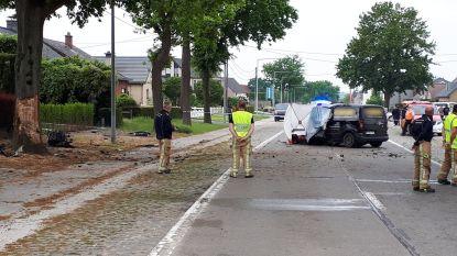 Derde dodelijk ongeval in 24 uur in Vlaamse Ardennen: man overlijdt na klap tegen boom