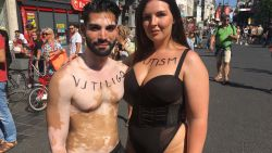"""""""Dik of dun, we mogen allemaal gezien worden"""": de eerste 'bodypositivity catwalk' op de Meir"""