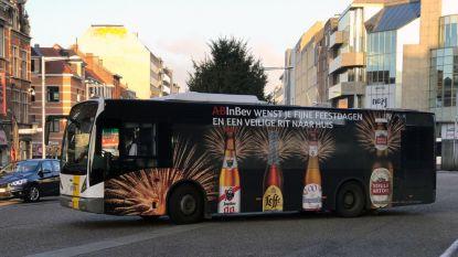 AB InBev decoreert Leuvense stadsbus