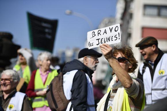'Grootouders voor het klimaat' in Luik.