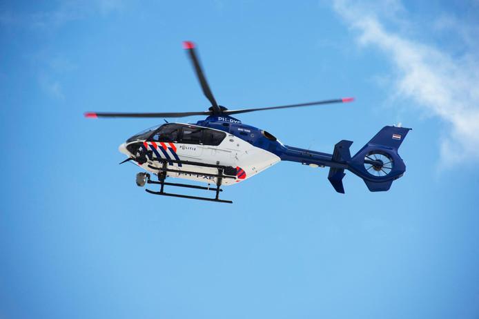 Politiehelikopter.