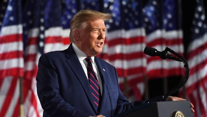 """Trump doet er graag nog vier jaar bij: """"Dit zijn de belangrijkste verkiezingen in de geschiedenis van ons land"""""""