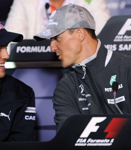 Vettel eert idool Schumacher met speciaal helmdesign op Nürburgring
