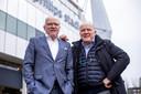 Willy en René van de Kerkhof vorig jaar bij het Philips Stadion.