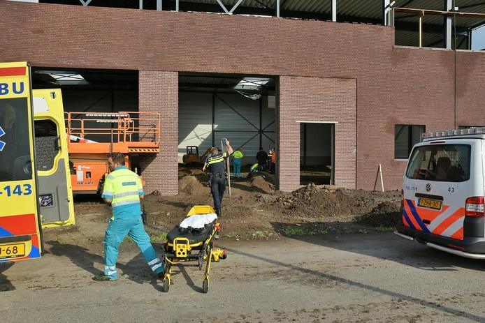 Hulpdiensten zijn ter plaatse in Berkel-Enschot