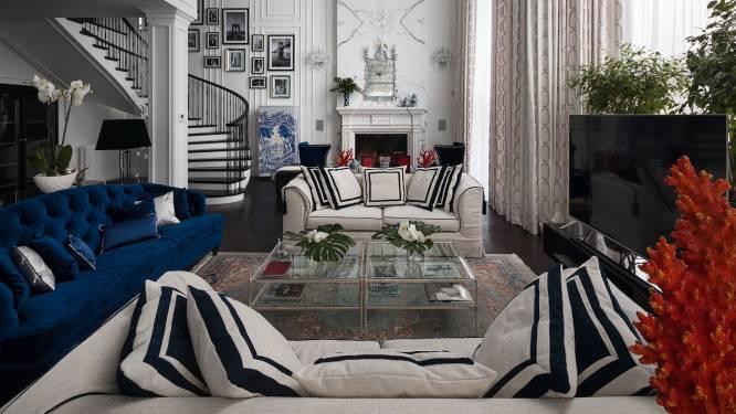 Wat denk jij van dit op Christian Dior en Ralph Lauren geïnspireerd interieur: top of over the top?