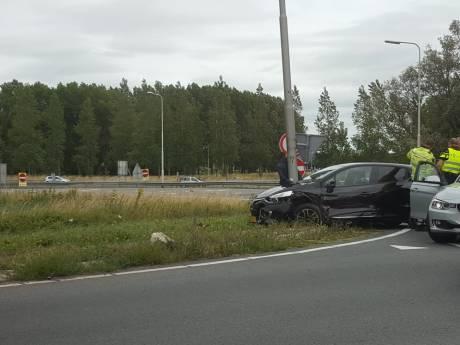 Wilde achtervolging op A12 eindigt in crash bij Reeuwijk