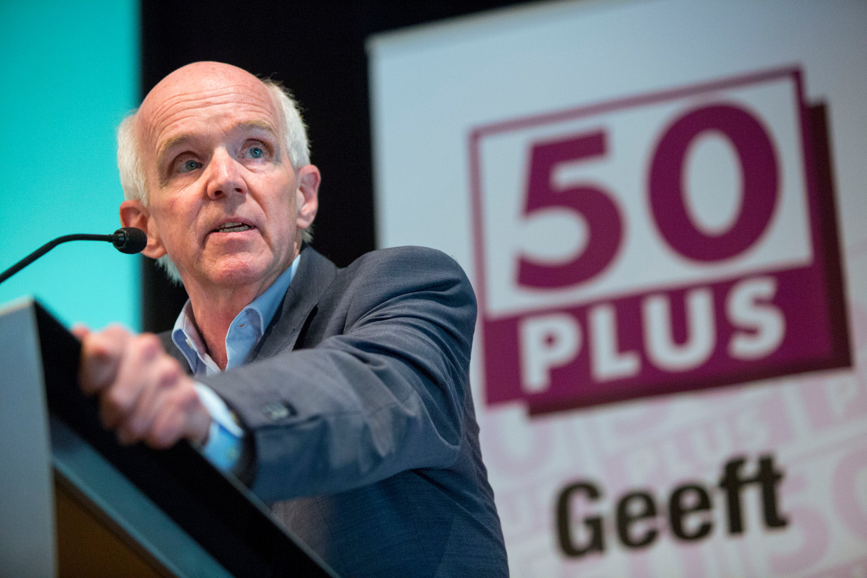 Geert Dales, voorzitter 50PLUS