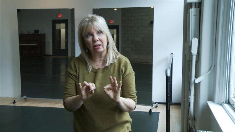 'Van Gina heb ik zo veel geleerd. Over efficiënt bewegen, emoties gieten in heldere vormen, onszelf niet te serieus nemen.' Beeld