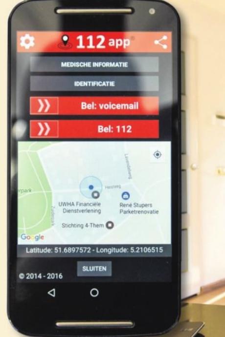 Boze Walen kosten 112-app Vlijmenaar  goede rating