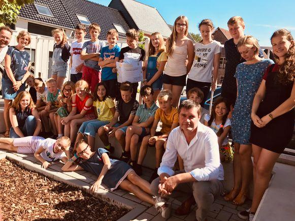 Basisschool Klim-Op tekende het Klimaatcharter.