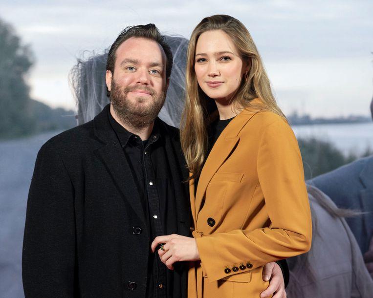 Jens Dendoncker en Lauren Versnick.