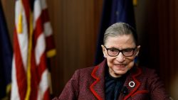Amerikaanse opperrechter Ruth Bader Ginsburg (87) overleden