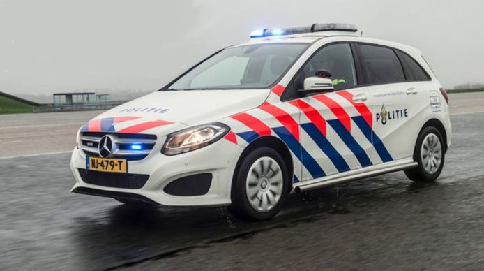 politie nieuwe auto