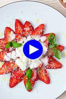 Gâtez maman avec du chocolat et des fraises, préparez-lui ce dessert plein d'amour