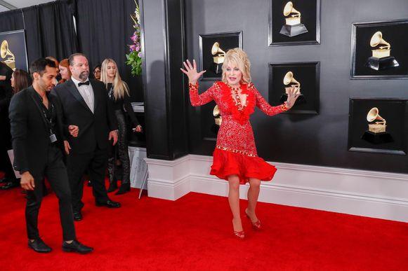 Dolly Parton op de rode loper