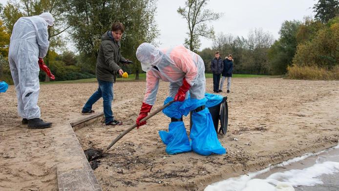 In Monnickendam werden vorige week al dode vogels geruimd.