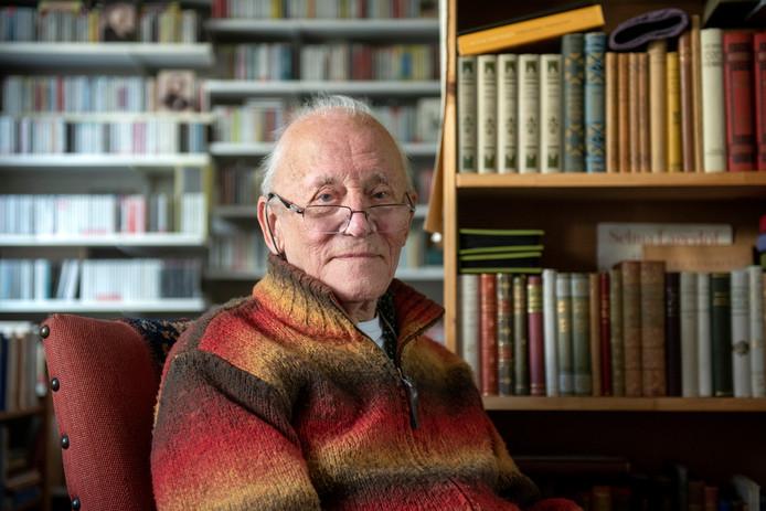 Piet van der Kolk schrijft nog altijd gedichten.