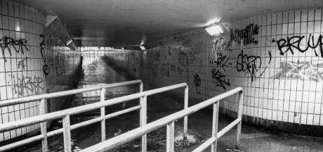 Deze tunnel in Amersfoort was eerst een regelrechte gribus: 'Je kon er ongemerkt een moord plegen'