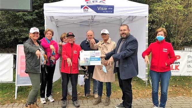 Rotary Club Sint-Pieters-Leeuw steunt wandelactie tegen Parkinson