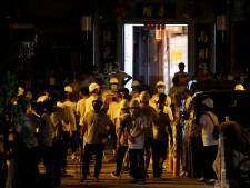Demonstranten Hongkong bij thuiskomst aangevallen door gemaskerde mannen
