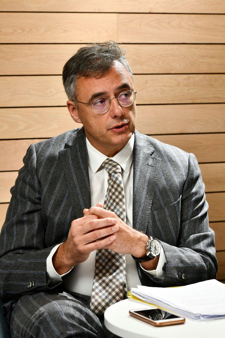 Joachim Coens is burgemeester van Damme, havenbaas en één van de zeven kandidaat-voorzitters van CD&V.