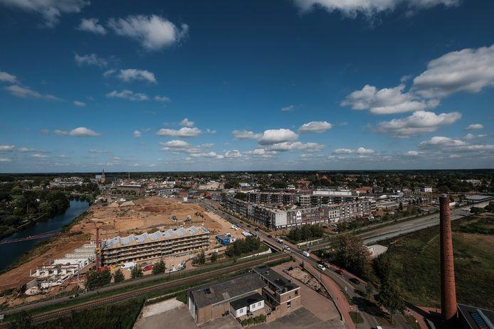 Iseldoks is een nieuwbouwwijk in Doetinchem die wordt gebouwd bij het stadscentrum. Archieffoto: Jan Ruland van den Brink