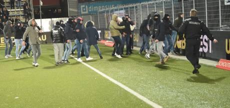 Noodbevel in Deventer vanwege 'vechtafspraken' tussen fans GA Eagles en FC Twente
