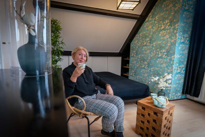 Japanse kamer van Annemarie in 't Hout.