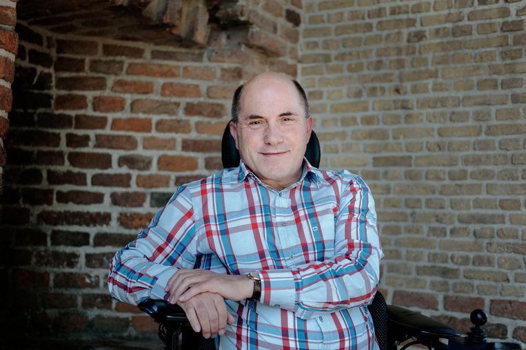 Hans van der Knijff was in 1996 een van de eersten die een pgb kreeg. Beeld Merlin Daleman