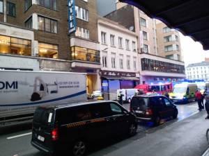 Un homme fait une chute mortelle depuis le toit d'un hôtel à Anvers