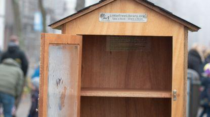 Boekenruilkastjes in Oudenaarde leeg omdat ontleners 'vergeten' ander boek in de plaats te zetten