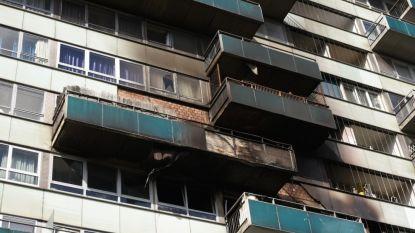 Vijf appartementen onbewoonbaar na brand in Molenbeek