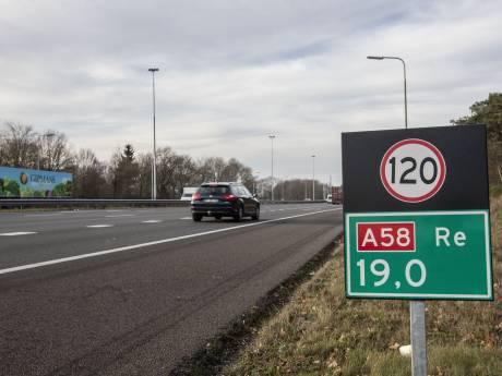 Van Tilburg naar Eindhoven en vice versa? Komende weken 's avonds niet over A58