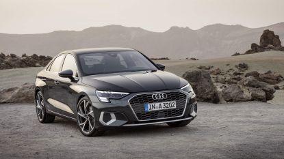 Berline-afgeleide voor de Audi A3, cabrio geschrapt