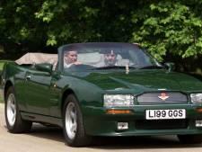 Prins Charles reed 17 jaar in deze cabriolet en nu is 'ie te koop