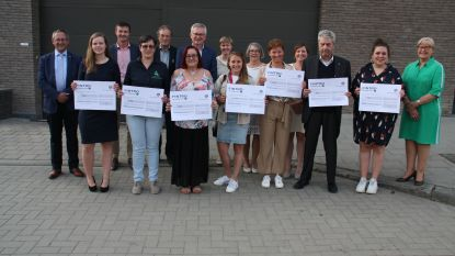 Zeven goede doelen uit de streek krijgen geld van Rotary Diksmuide 86XX