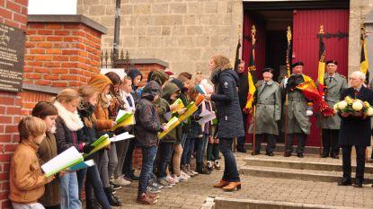 Leerlingen Klim-Op herdenken samen met oud-strijders einde WOI