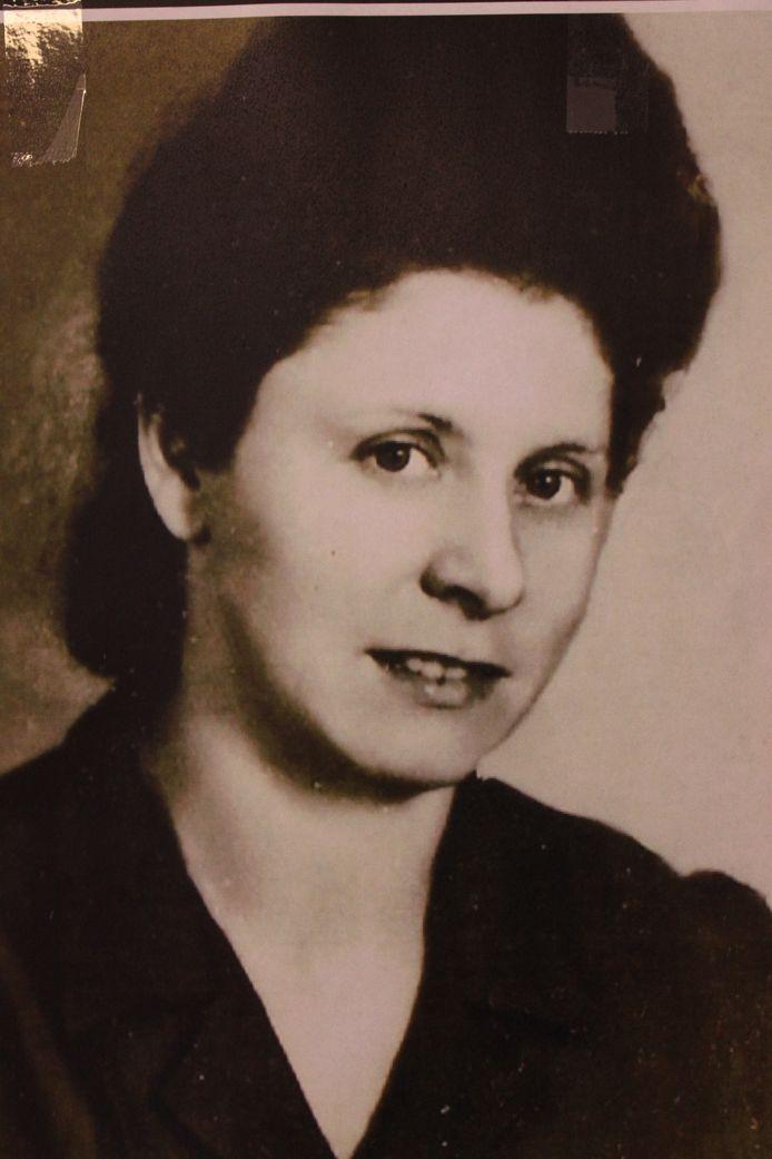 Maria Paesschierssens in haar jonge jaren.