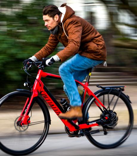 E-bike voor personeel bedrijventerrein Haaksbergen dat met bus komt