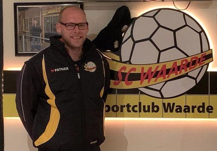 Jeroen Bakx wordt de nieuwe trainer van SC Waarde.