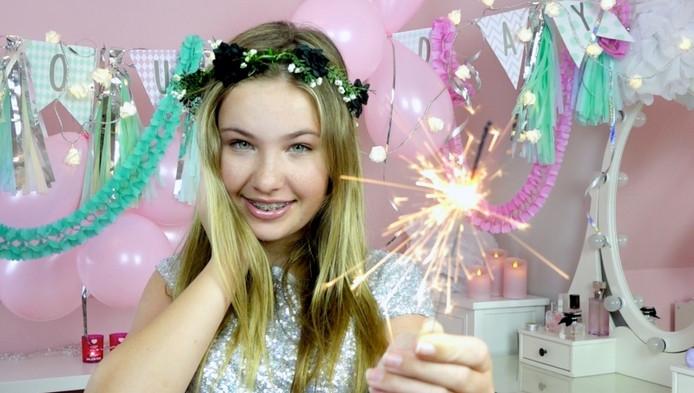 De Apeldoornse vlogger Joy (13) van BeatyNezz.