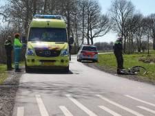 Botsing tussen fietser en auto in Herpen loopt met sisser af